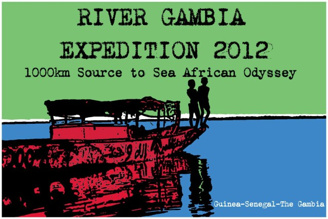River Gambia Expedition 2012 logo