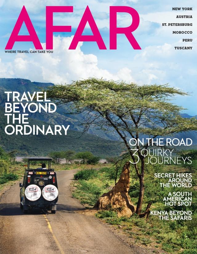 AFAR Magazine Cover - Kenya