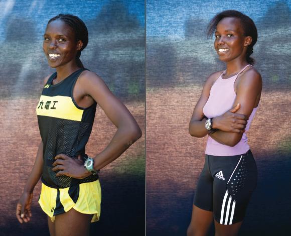 Kenya marathon runners