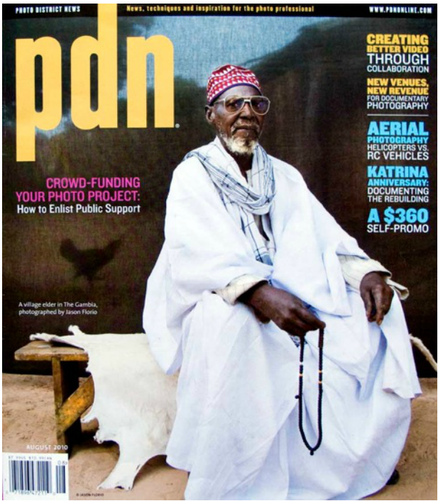 PDN - Photo District News  - Cover Shot