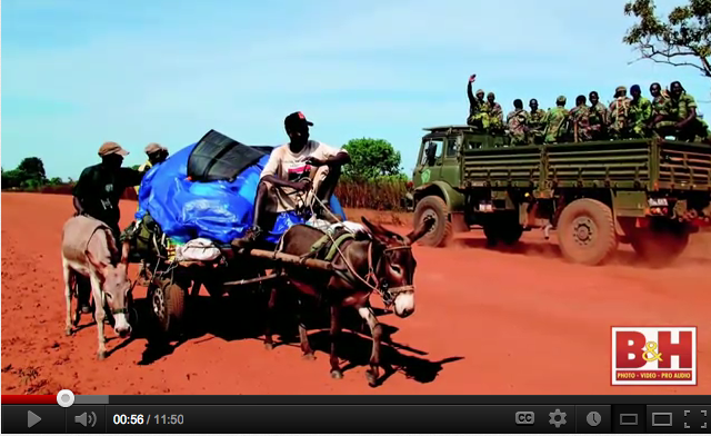 'A Short Walk in the Gambian Bush - a 930km African odyssey' on the road shots - image © Jason Florio, 2009