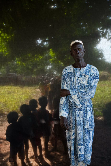 Lamin Jammeh - village chief of Khalaji village, The Gambia, West Africa © Jason Florio