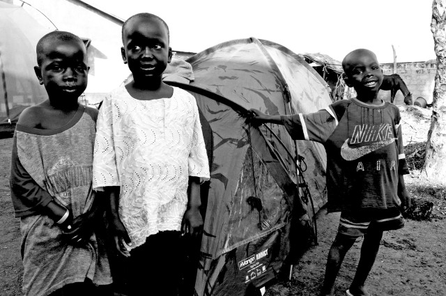 Addict tents, The Gambia, West Africa