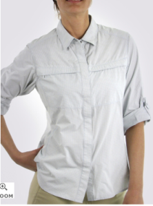 Women's Insect Shield® Halo™ Check Long-Sleeve Shirt