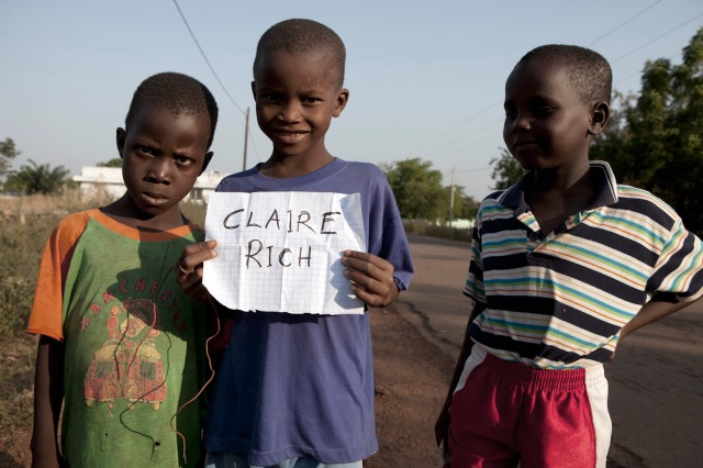 Claire 'Cakes n Pies' Rich © Jason Florio, Kedougou, Senegal