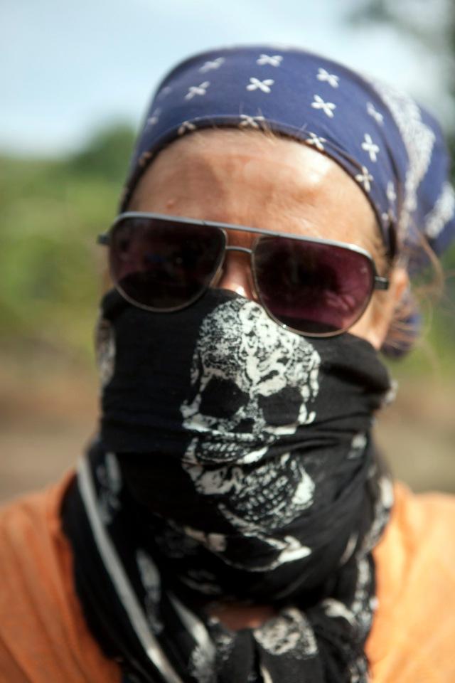 Helen 'dust? What dust?' Jones-Florio