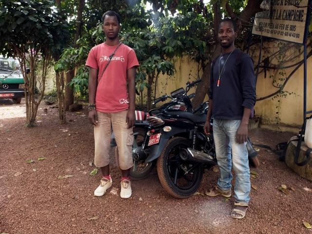 Saif and Yaya - Galissa Voyage Trekking, Labe, Guinea