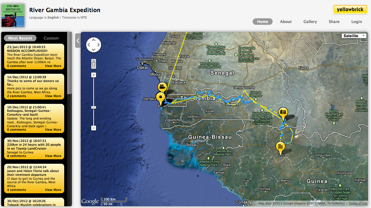 River Gambia Expedition 1000km sourcesea African odyssey Page 9