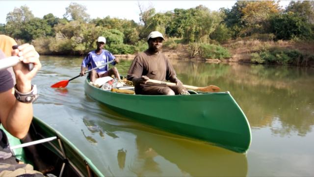 Abdou & paddle