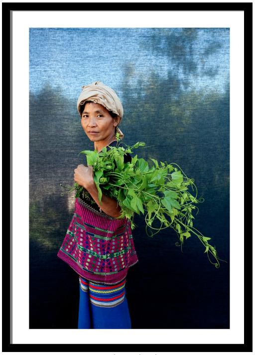 Burmese woman farmer